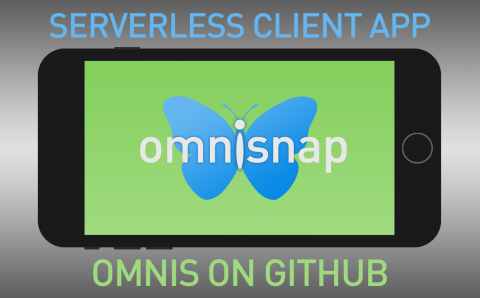Omnis Example Mobile App demos Serverless Client mode