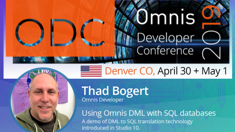 Speaker Announced for US Omnis Developer Conference